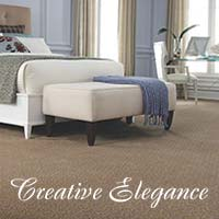 Stop by your local Floors To Go showroom today and explore all of the latest styles and colors of Creative Elegance carpet today!