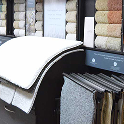 Carpet - At our warehouse, we have over 100 different styles of carpet. Home to the most in stock carpet, from low end to high end that no one else carries!